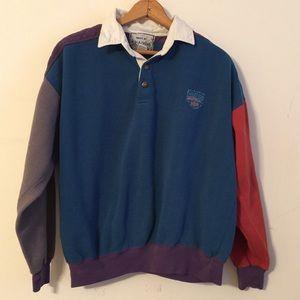 Authentic 70's Collared Crewneck Sweater